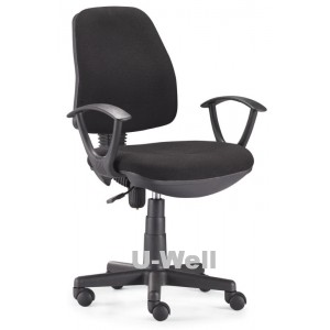 fabric computer task office chair F201 BLACK