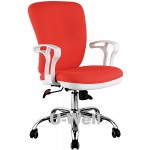 New arrival big back white office chair F220C-W