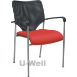 Mesh Office reception chair S007A RED