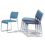 mesh armless stacking chair S007B