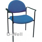 fabric stackable church chair S010A
