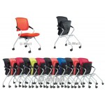 Top quality office stackable mesh guest chair S015