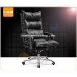 Comfort high back leather executive boss chair black