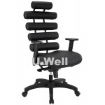Adjustable massage executive chair black