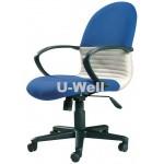 Mid back fabric staff chair F211B