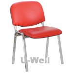 school study  student chair with chrome four leg S004C