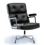 Big back aluminum  leather chair, Eames chair L085-2