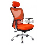 2014 hottest high back orange manager mesh office chair