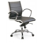 Office Leather chair mid back L183A-2