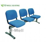 Fabric waiting chair 3seater S004-3