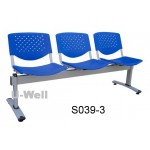 School waiting chair 3seat S039-3