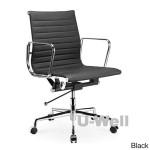 Black Comfort Mid Back Adjustable Office Chair