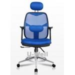 blue high back computer desk chair M312C BLUE