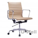 Executive Mid-back office chair Beige