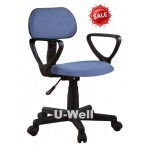 Best seller Blue armrest school desk chair blue F001A