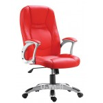 High back leather home office chair  L2001