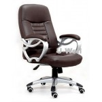 High back PU manager chair