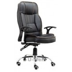 Black leather Leisure office chair