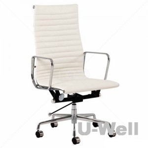 Management office chair eames high back white
