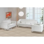 white office florence knoll sofa U-Well
