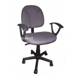 Quality fabric office desk chair F008A Grey