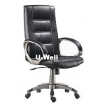 Good leather manager chair L225S black