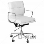 soft pad management office chair eames white