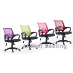 Promotion chair in purple green pink red color