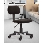 student task chair grey armrest F001-1