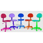 Colorful Study chair F003 pink