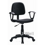 staff office chair with arm F004A black