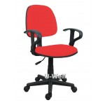 task chair with arms red-F006A
