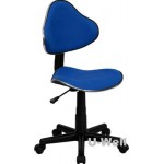 Student computer desk chair F010B BLUE